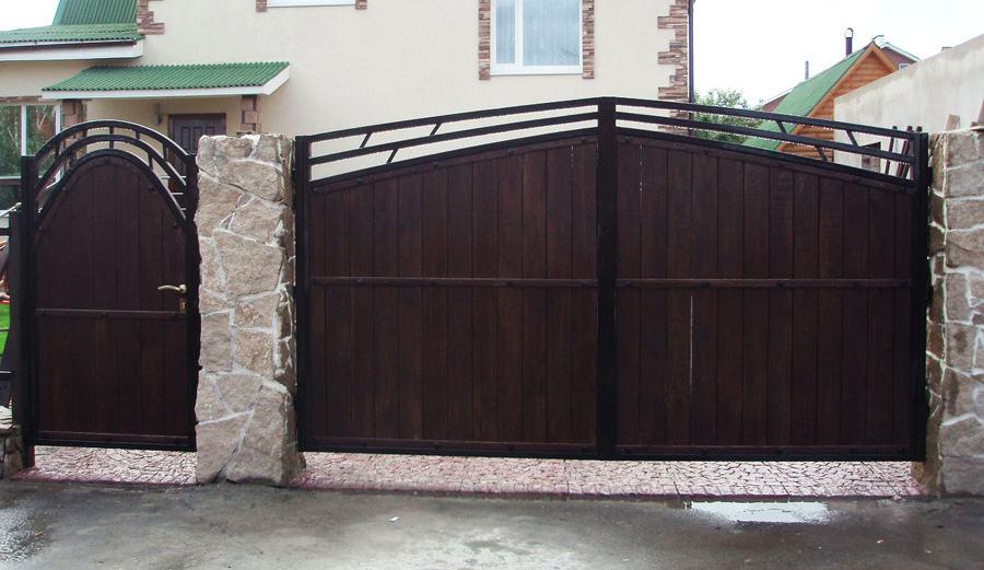 Ворота не новые схема на открывание ворот
